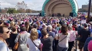 Central Florida women march for equality and rights