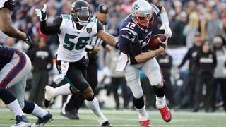 IMAGES: Jaguars face Patriots in AFC Championship game