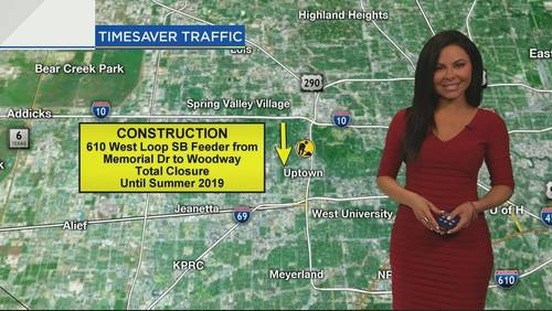 Drivers can expect major delays in downtown, detours on Katy Freeway