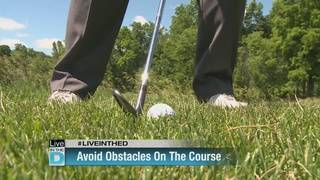 On the Course With Krause: avoiding obstacles
