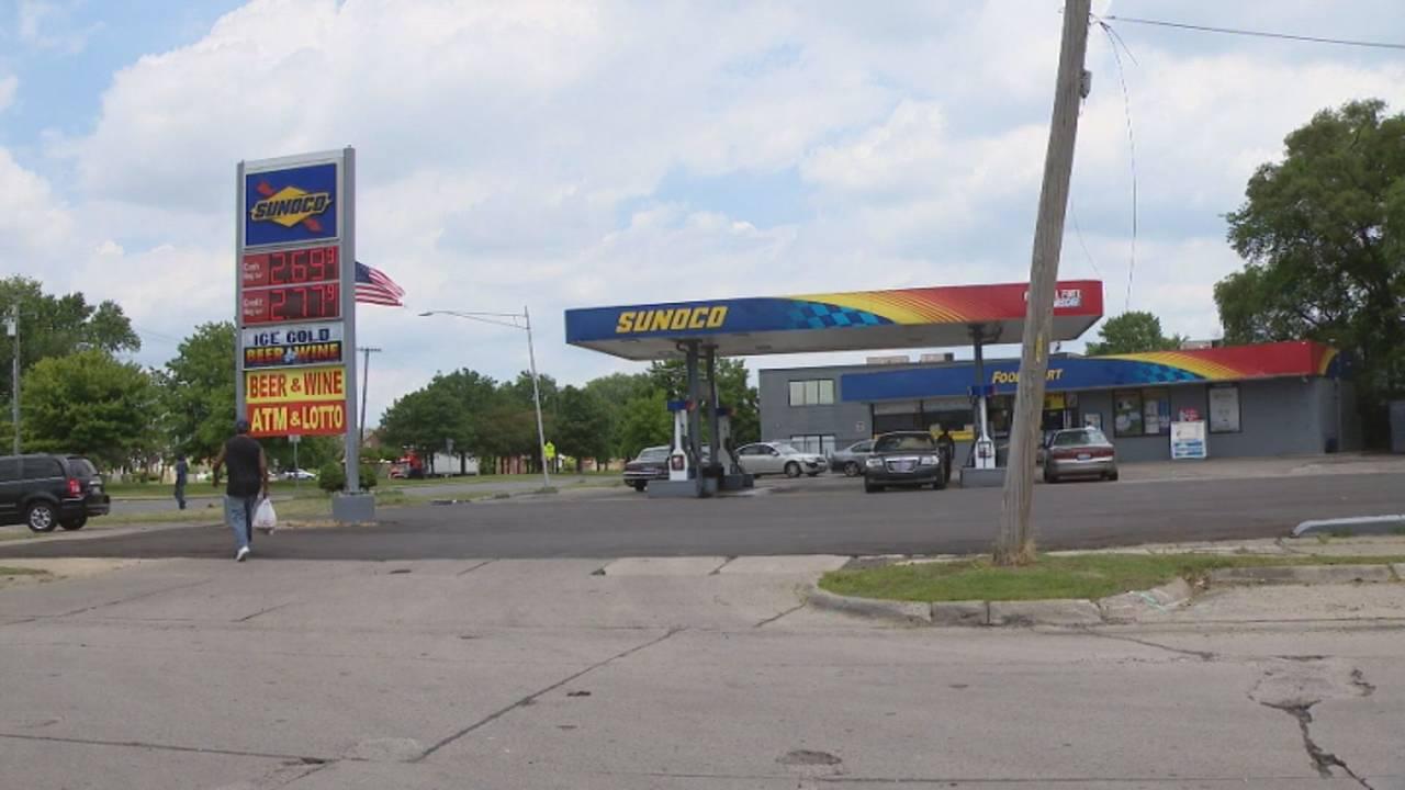 Harper Woods gas station shooting