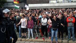 German far-right rally hears calls for violence