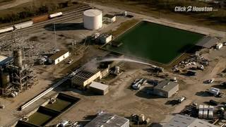 Fire contained at Solvay Chemical cooling tower in La Porte