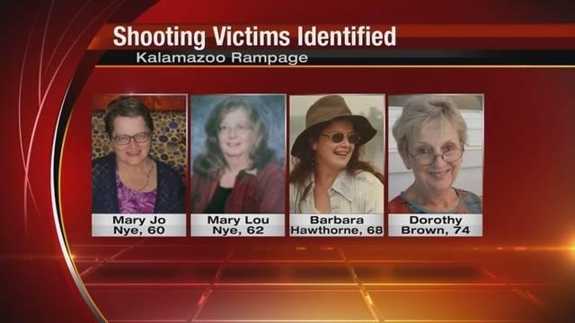 Pretape of Kalamazoo women victims