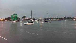 More than foot of rain causes massive flooding in southern Texas