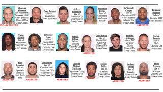 Flagler County investigation nets arrests, warrants for 18 'poison peddlers'