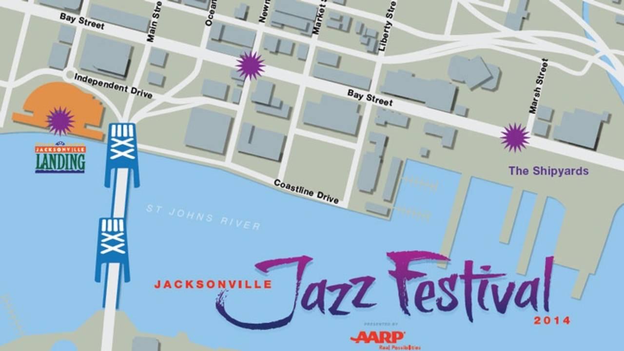 Jazz Festival 2014 map_26103068