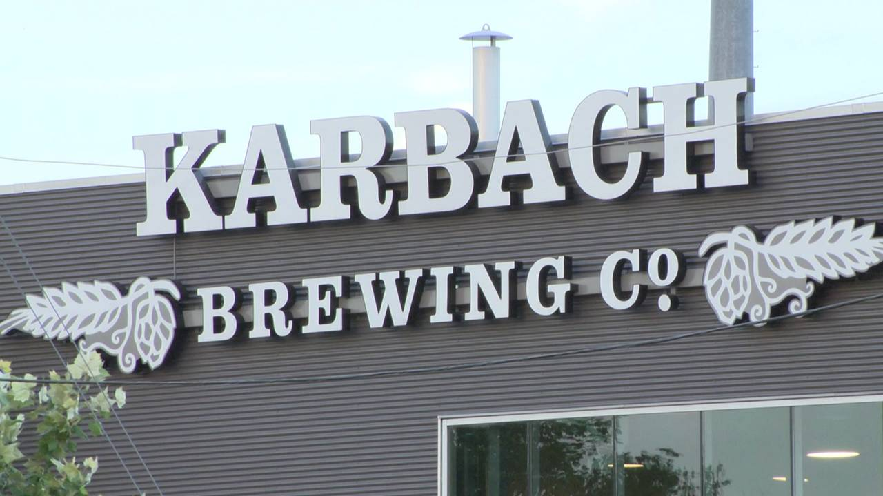 karbach brewing company generic sign