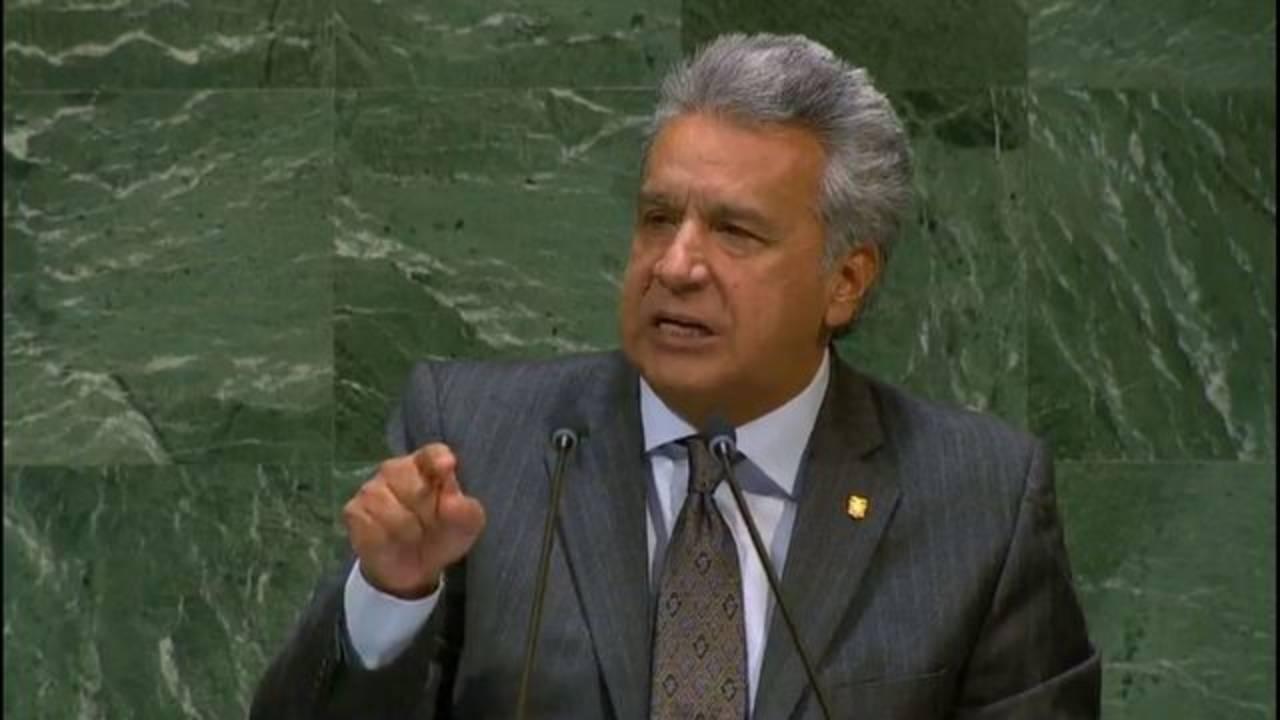 President of Ecuador Lenin Moreno