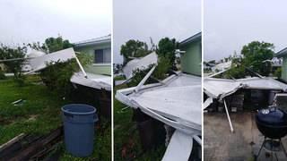 Weather Service confirms tornado caused damage on Merritt Island