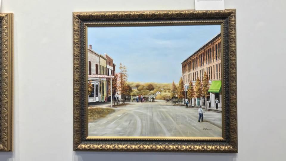 Ann Arbor Paintings Liberty St.