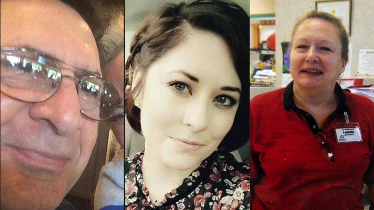 Edward Magana, Allie Barrow, Pamela Johnson
