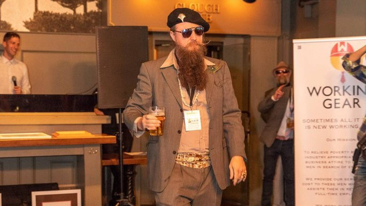 Ron Wolek's award-winning beard 4
