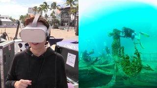 Virtual reality exhibit in Fort Lauderdale aims to 'protect our reefs'
