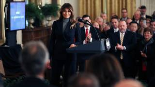 Melania Trump to host tech leaders at White House