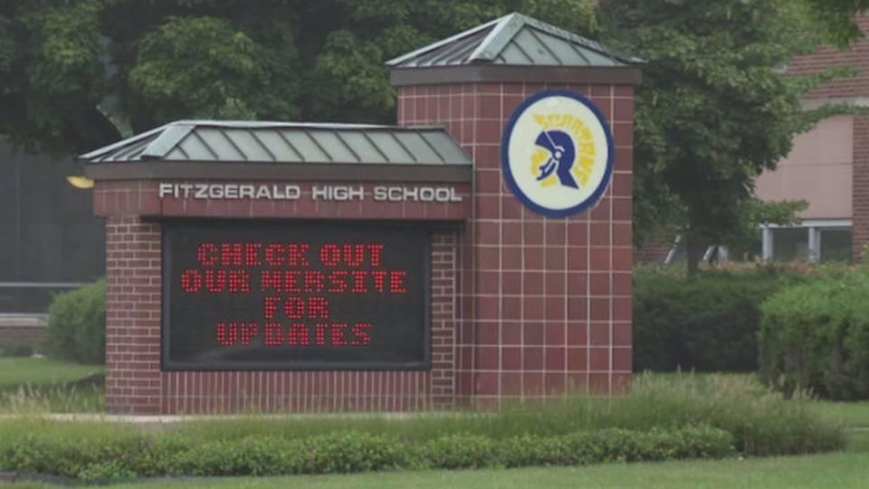 Fitzgerald High School sign Warren_1536767117754.jpg.jpg