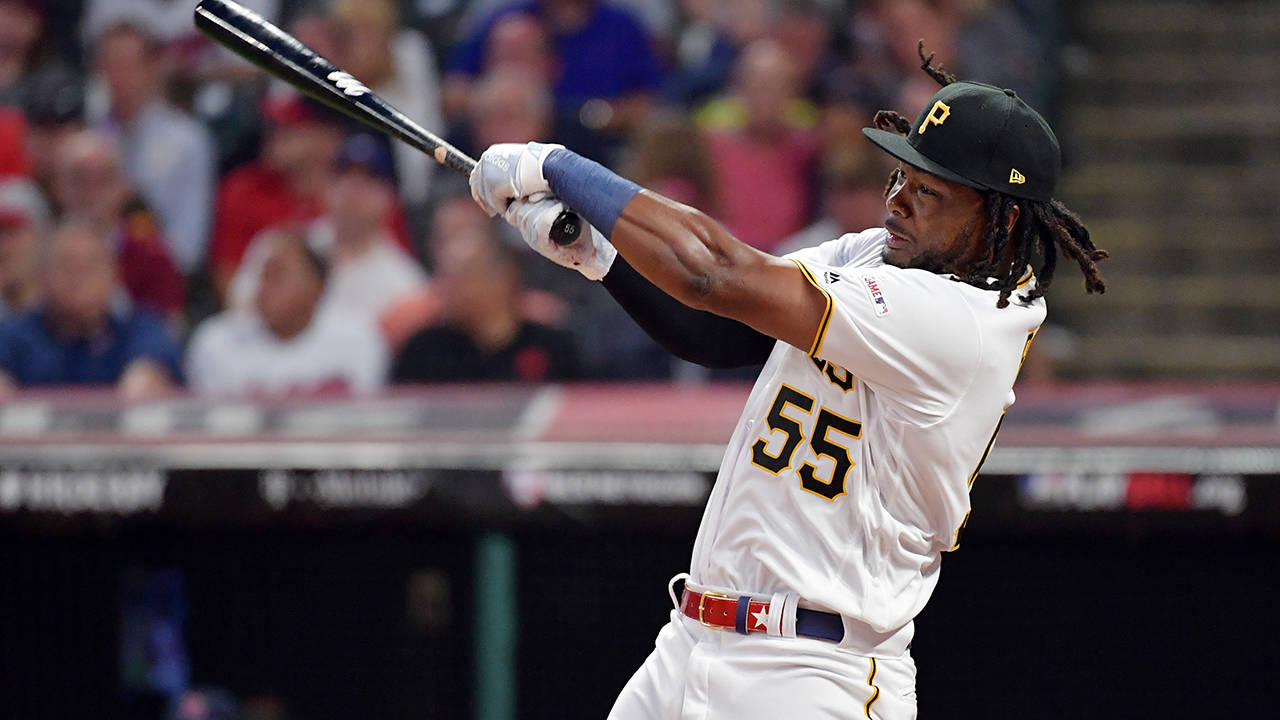 Josh Bell 2019 hr derby getty