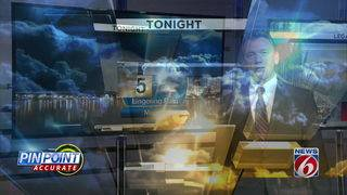 News 6 Evening Forecast for August 16th