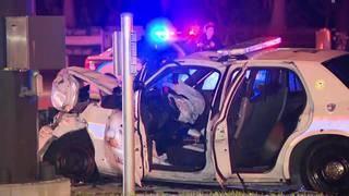 Lauderhillpolice officer injured in Fort Lauderdale crash