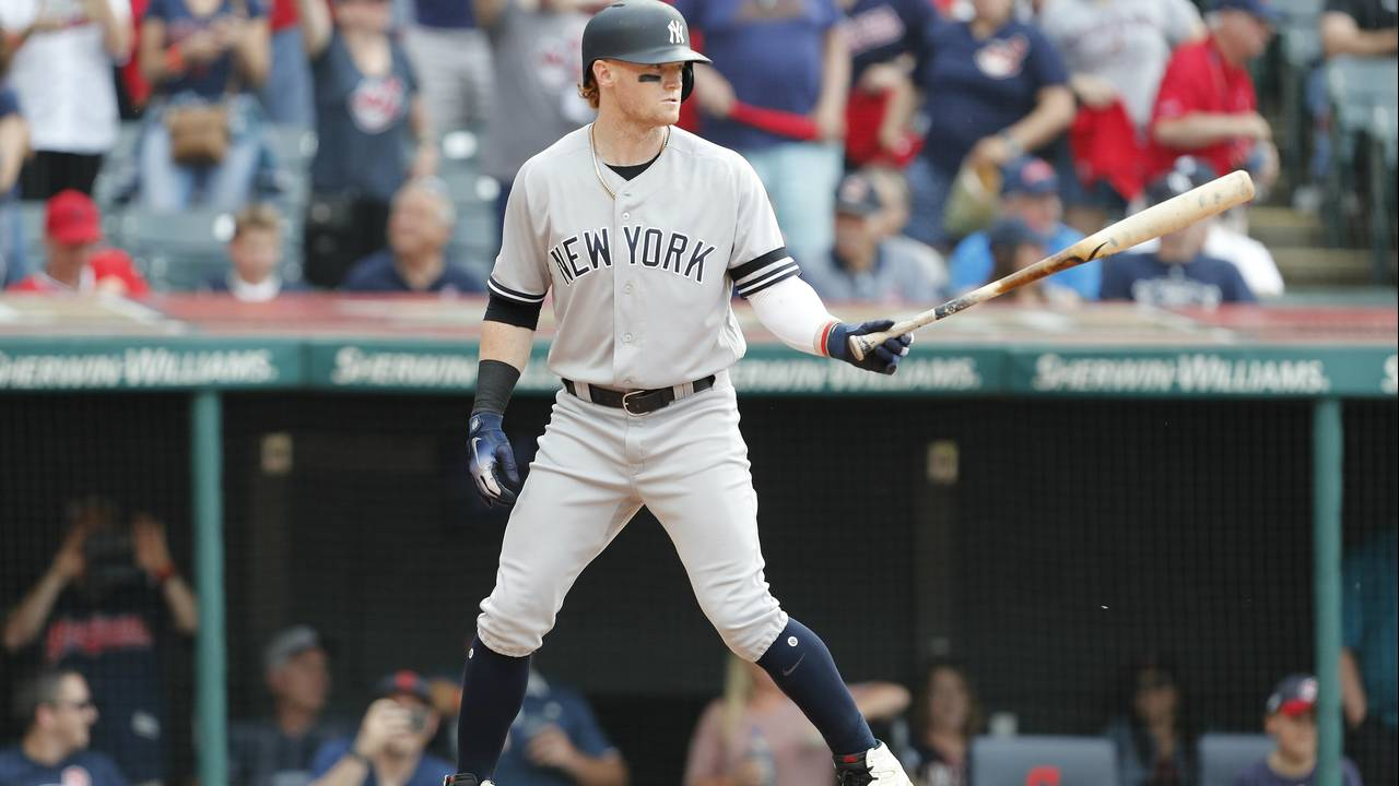 Clint Frazier New York Yankees 2019