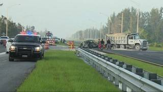 Driver burned to death in fiery crash on Krome Avenue