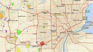 DTE Energy power outage map: 62K customers without power in... on
