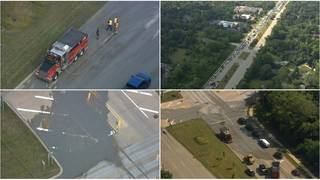 Concrete spill creates major traffic backup at Telegraph, 14
