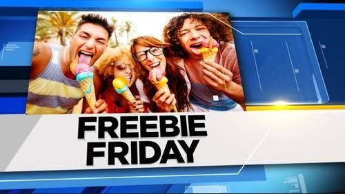 Freebie Friday for Aug. 31, 2018