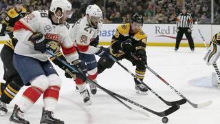 Panthers beat Bruins 4-1, snap Boston's 12-game home streak