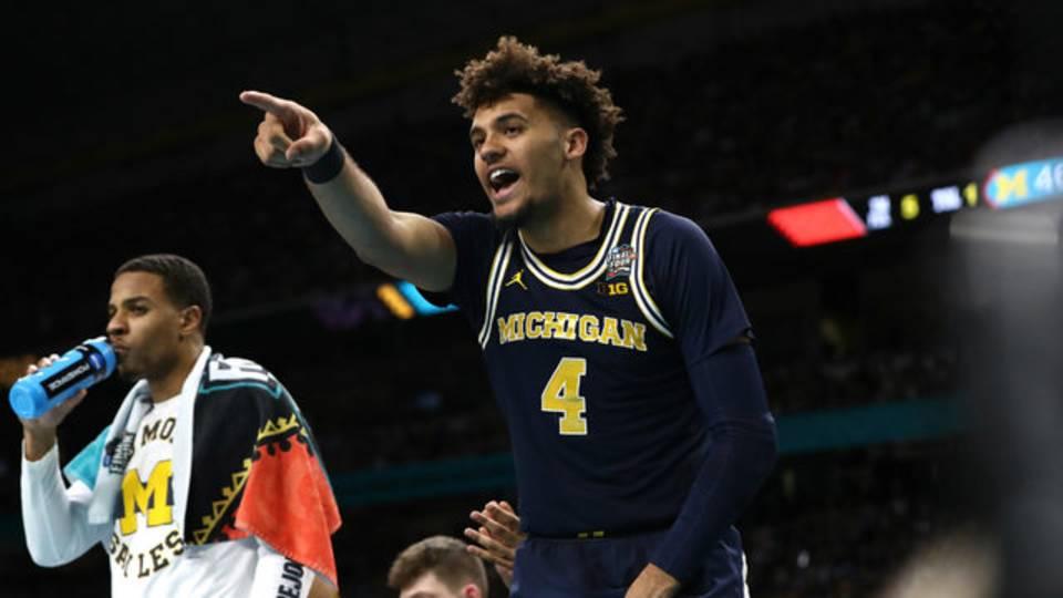 Isaiah Livers Michigan basketball vs Villanova 2018 national championship game