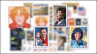 John Lennon, Sally Ride, Mr. Rogers: New USPS stamps for 2018