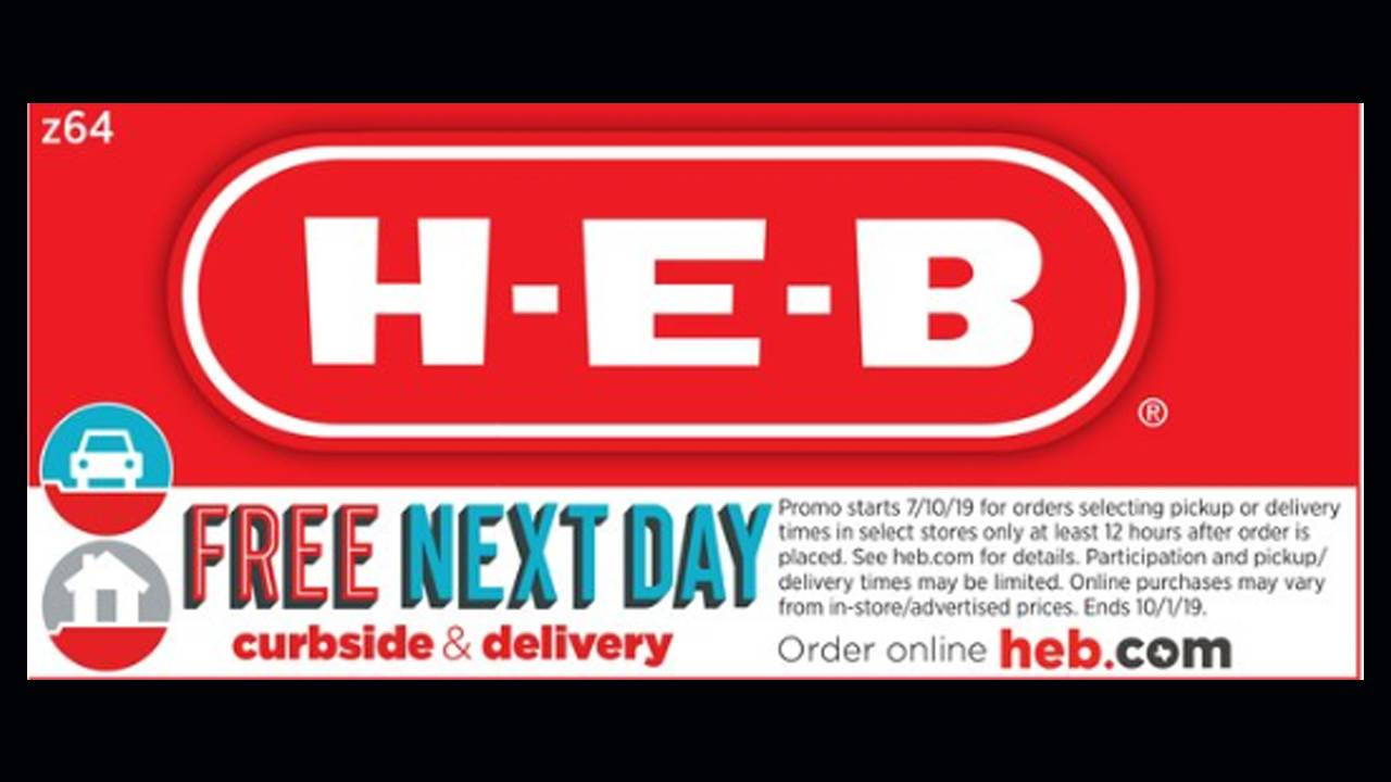 HEB Curbside deal