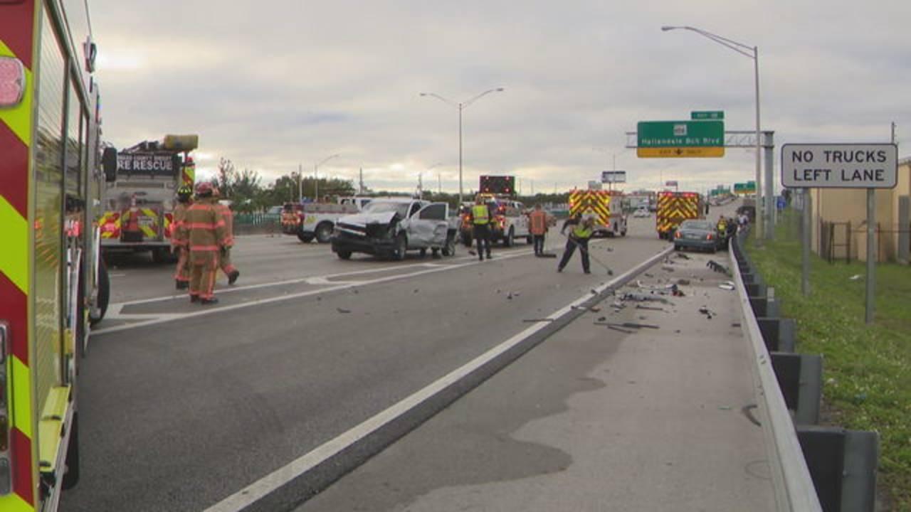 Several Injured After I 95 Crash Involving Tractor Trailer