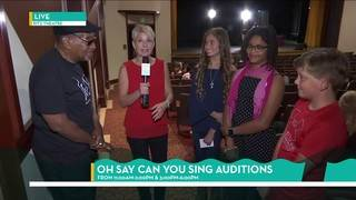 Behind the Scenes at the Oh Say Can You Sing Auditions   River City Live