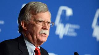 Bolton cancels South Korea trip 'to focus on events in Venezuela'