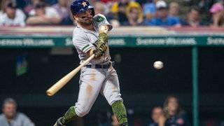 Indians hit 4 HRs, bullpen hangs on for 8-6 win vs. Astros