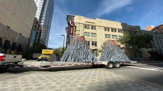 Here's why there will be a giant volcano in downtown Orlando this weekend