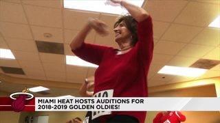 Miami Heat recruit new dancers to fan favorite Golden Oldies