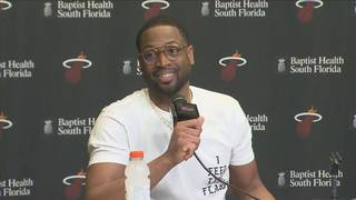 'I think the timing is perfect,' Wade grateful on return to Heat