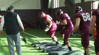 Virginia Tech feels optimistic about offensive line for 2018
