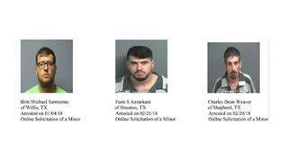 PHOTOS: 61 arrests made in online predator operation
