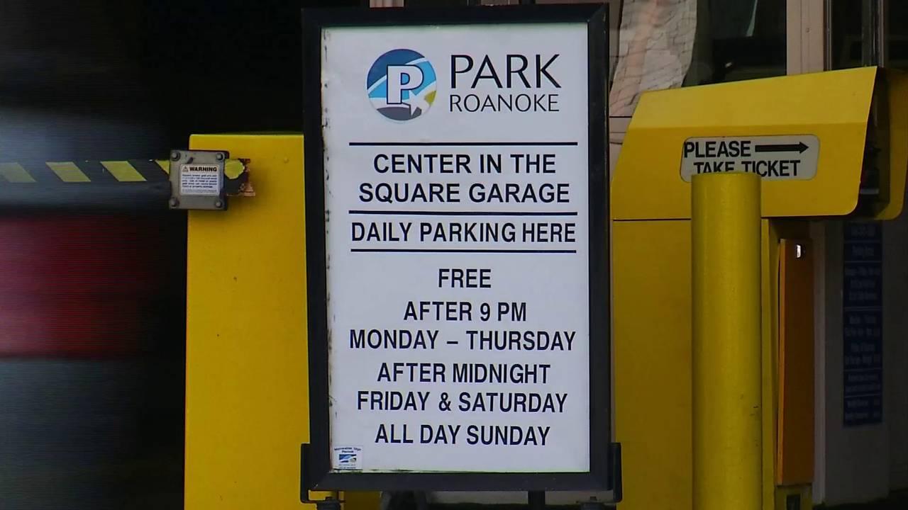 Old Center in the Square Garage parking sign 9-17-19_1568758167791.jpg.jpg