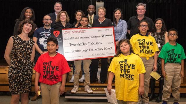 Scarborough Elementary School music program delivery 4