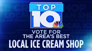 10 News Top 10: Local Ice Cream Shop