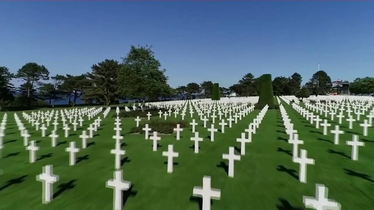 Normandy Cemetery Crosses
