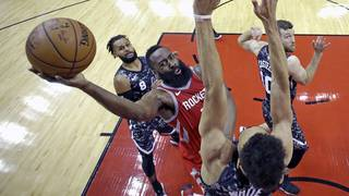 James Harden helps Rockets to easy 109-93 win over Spurs