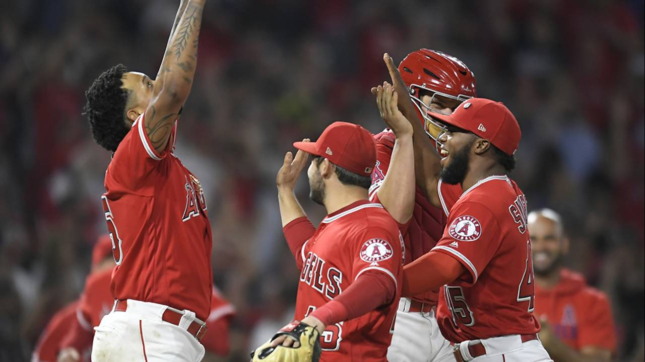 angels no-hitter tyler skaggs 7-12-19