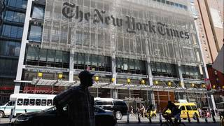 'Fourth Estate' goes inside NYT during Trump's first year