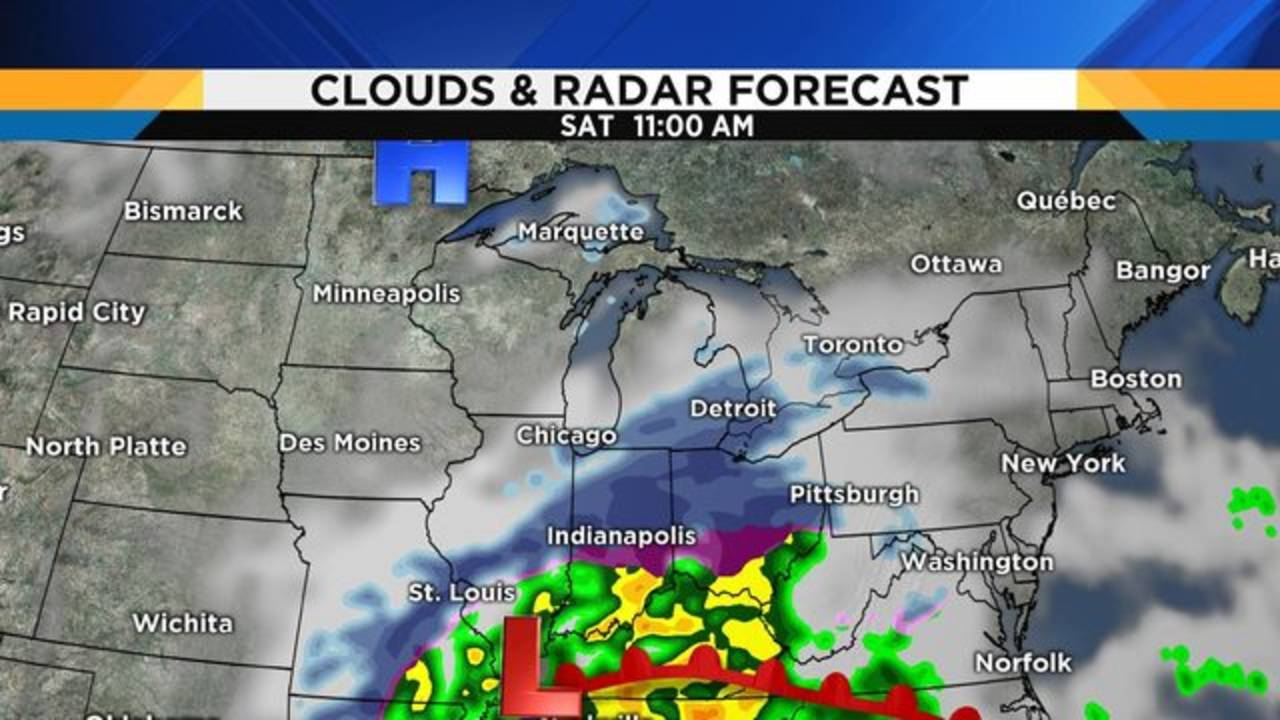 Snow Storm Weather Map.Metro Detroit Weather Tracking Saturday S Looming Snowstorm
