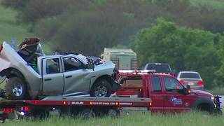2 accidents, 1 fatal, shut down southbound I-35 in Kyle
